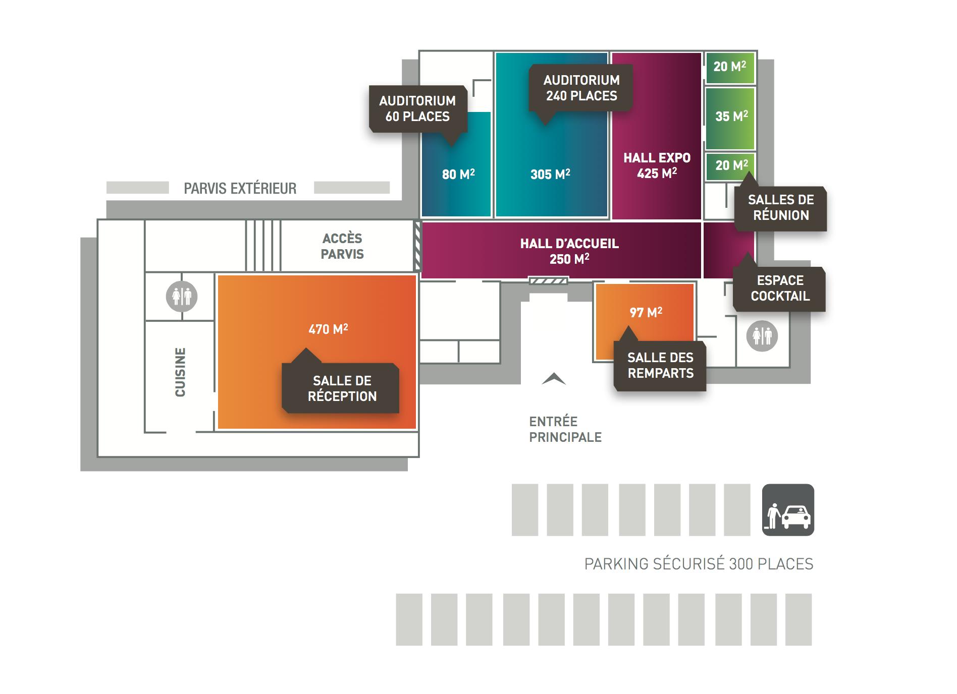 Location de salle et amph