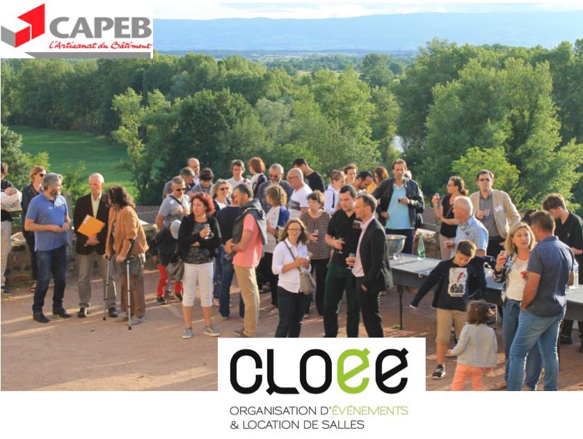 La CAPEB 42 en soirée événementielle avec l'agence CLOEE