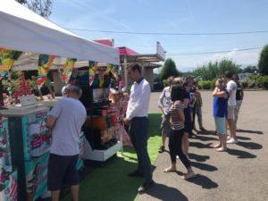 journée convivialité entreprise à l'initiative de l'agence CLOEE à l'hippodrome de Saint Galmier Saint Etienne