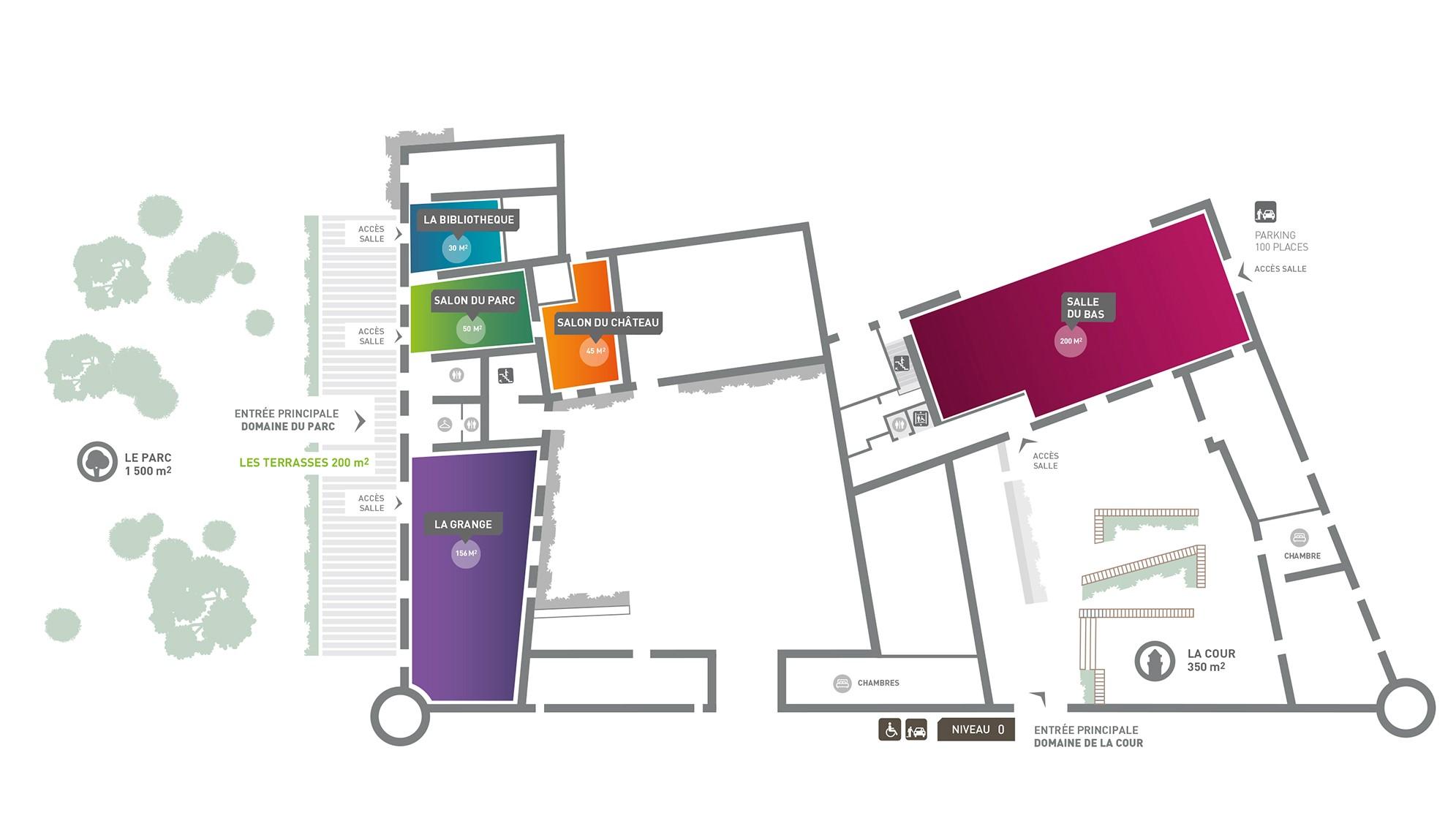 Location de salles à St Genest Malifaux, domaine la Diligence avec l'Agence CLOEE