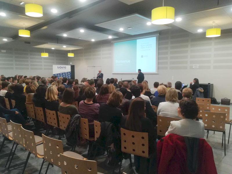 Réunion Conseil Département de la Loire organisation Agence CLOEE