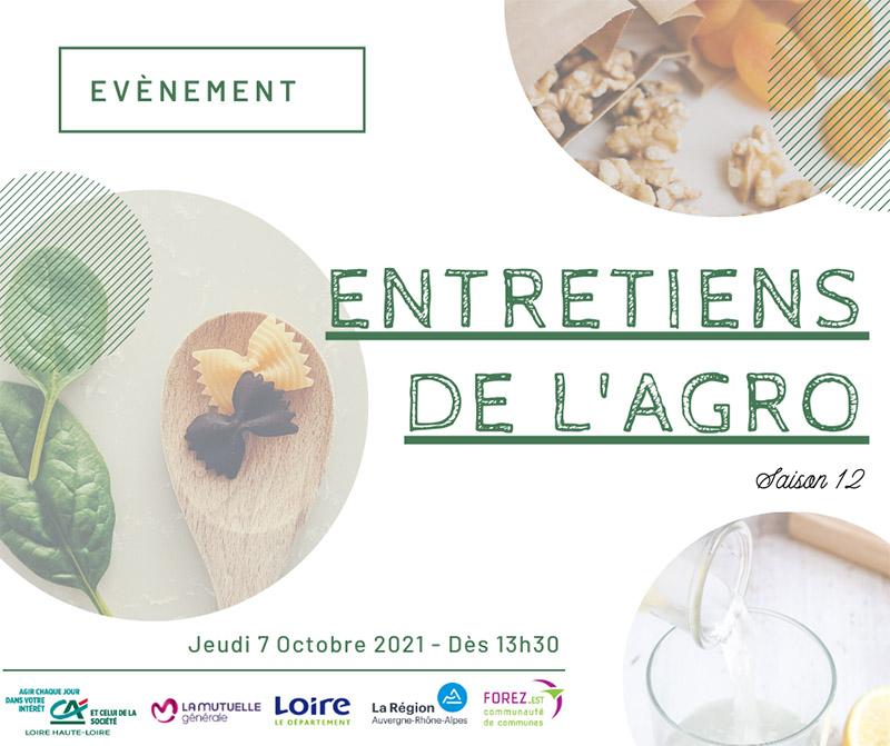12èmes entretiens de l'Agro Loire aux Foréziales de Montrond les Bains avec l'Agence CLOEE Evénements